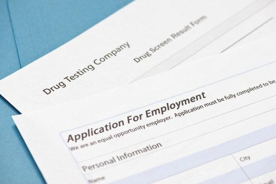 Pre-employment Drug Test Form
