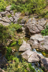 Satanayi Kamurj Canyon of the vorotan river near Tatev landmark of Syunik province Armenia eastern Europe