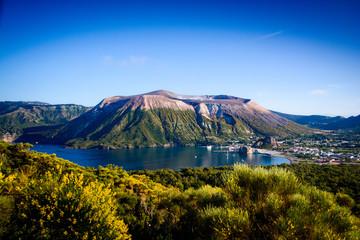 Vulcano in the aeolian island Fototapete