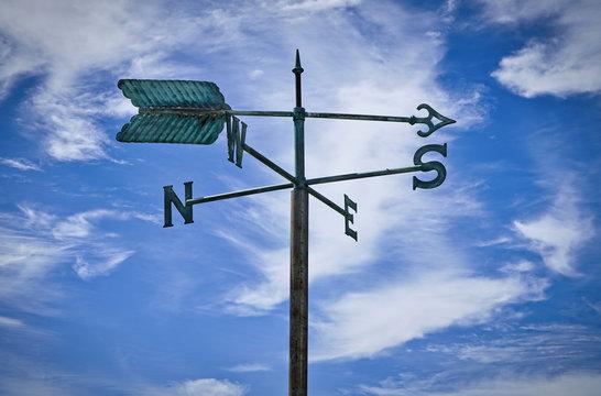 wind direction indicators weather vanes