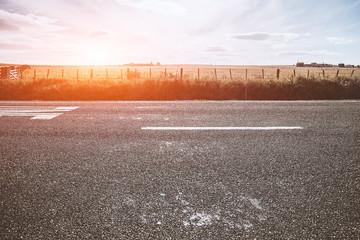 Foto op Plexiglas Zalm LWTWL0003305 Picturesque landscape scene road