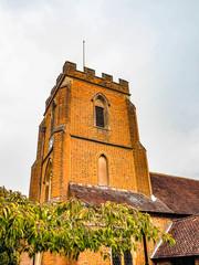 St Johns Red Brick Church Windlesham, Surrey, England.