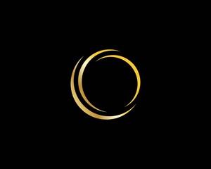 circle logo symbol vector template