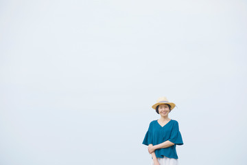 Wall Mural - 女性 ミドルエイジ ポートレート
