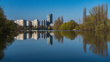 Offenbach-Skyline am Tag