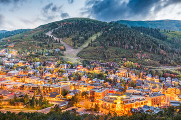 Fototapete - Park City, Utah, USA