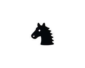 Horse vector isolated icon