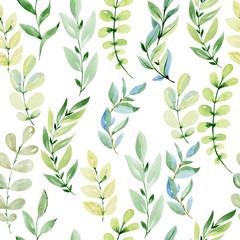 Watercolor seamless pattern