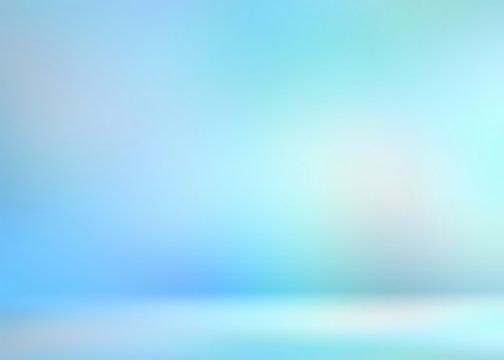 3d background blue flare. Clean icy room render. Wonderful decor.