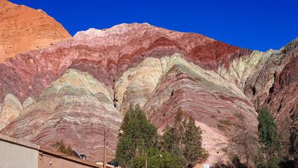 Foto op Aluminium Koraal Rainbow Mountains - Argentina