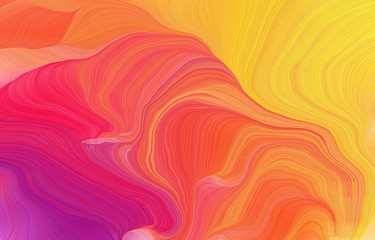 futuristic wavy motion speed lines background or backdrop with indian red, pastel orange and tomato colors. good for design texture - fototapety na wymiar