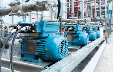 Additive pump station in petrochemical technology, Czech Republic