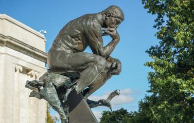 Rodin's The Thinker Cleveland Museum of Art
