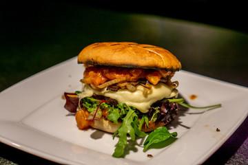 Asiaburger vom Grill
