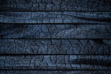 Door stickers Firewood texture BBQ background. Burnt wooden Board texture. Burned scratched hardwood surface. Smoking wood plank background. Burned wooden grunge texture