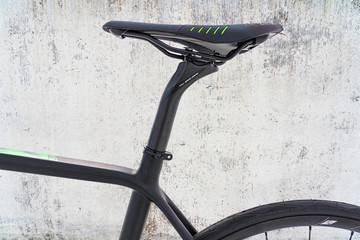 Nahaufnahme Fahrradsattel