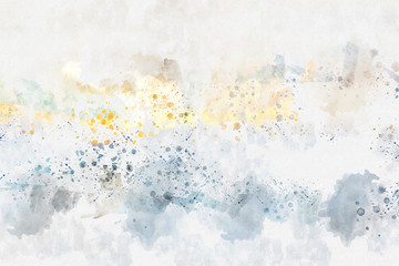 Abstract watercolor background. Artistic painted background for design, wallpaper, texture. Modern art. Contemporary art.