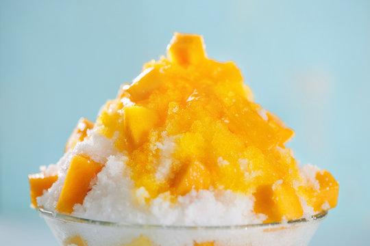 Bingsu mango.