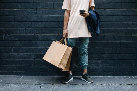 Modern Man at Shopping