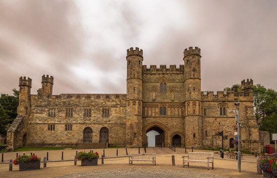 Battle Abbey of Hastings in England 1066.