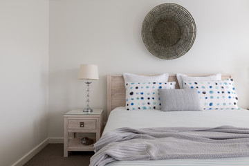 Luxury bedroom setting