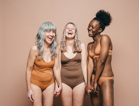 Diverse group of women