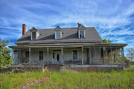Deserted Rural Farmhouse