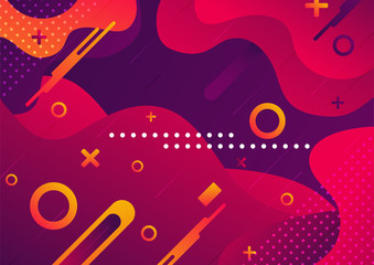 Futuristic background abstract, great design for any purposes. Red color