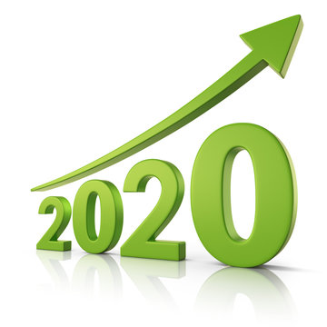 2020 Growth forecast concept