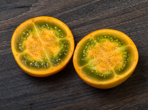 Solanum quitoense, Lulo or Naranjilla