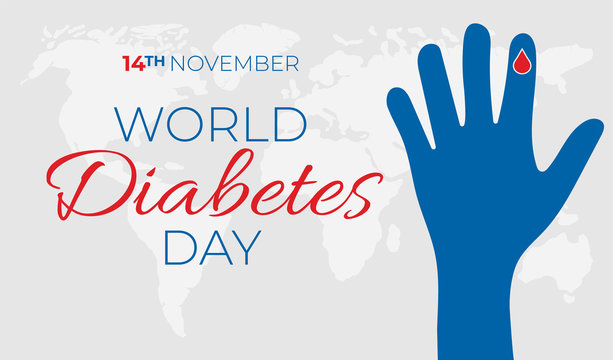 World Diabetes Day Illustration Background Banner