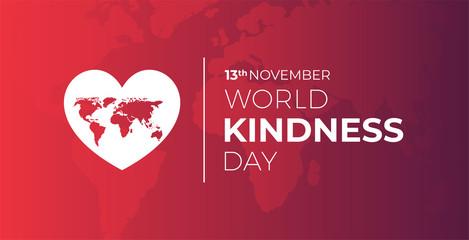 World Kindness Day Illustration Background