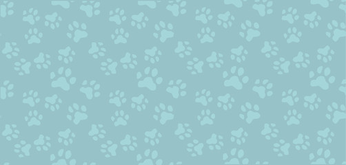 Seamless pattern.Traces from paws cats,dogs, household Pets.Nice vector illustration.Spectacular pastel colors.Design of websites,postcards,signs,web pages, pet stores.Vector illustration.