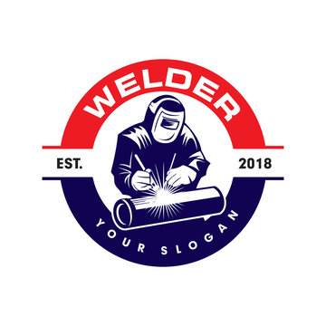 Welding Logo Photos Royalty Free Images Graphics Vectors Videos Adobe Stock