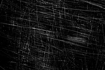 scratches isolated on black
