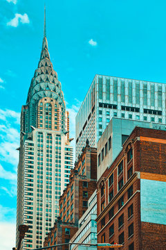 Chrysler Building is an Art Deco skyscraper in Midtown Manhattan, New York City.