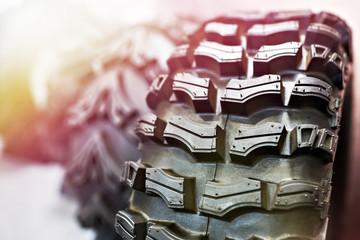 New tire for ATV