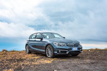BMW 1 Series 116d 5-door. Italy, Catania. May 12, 2019.