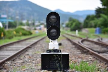 기차가 안오는 오래 된 역