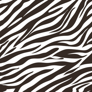 Digital zebra skin pattern to decor anything you want