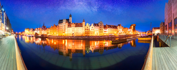 Fototapete - Polish Gdansk Embankment