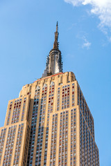 Facade of Empire State Building
