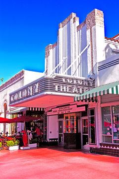 Famous Colony Art Deco Theater