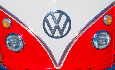 beautiful restored VW Bully