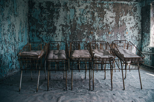 Restricted Chernobyl Exclusion Zone in Ukraine