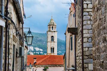 stare miasto Dubrownik, Chorwacja, wieża