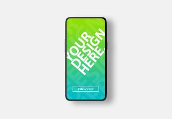 Full Screen Smartphone Mockup