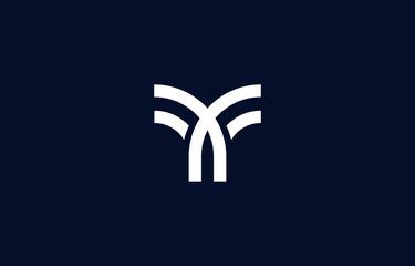 Initial based clean and minimal Y Logo. Y letter creative fonts monogram icon symbol. Universal elegant luxury alphabet vector design