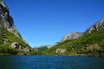 Fototapeta Kanion rzeki Cetina, Chorwacja obraz