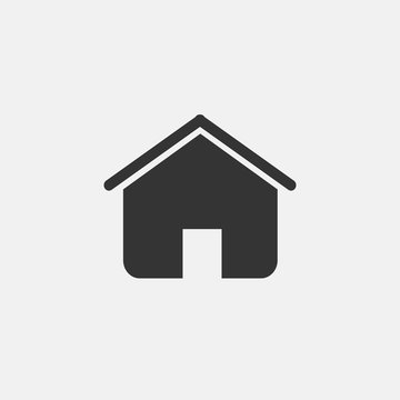 home house vector icon isolated icon eps 10